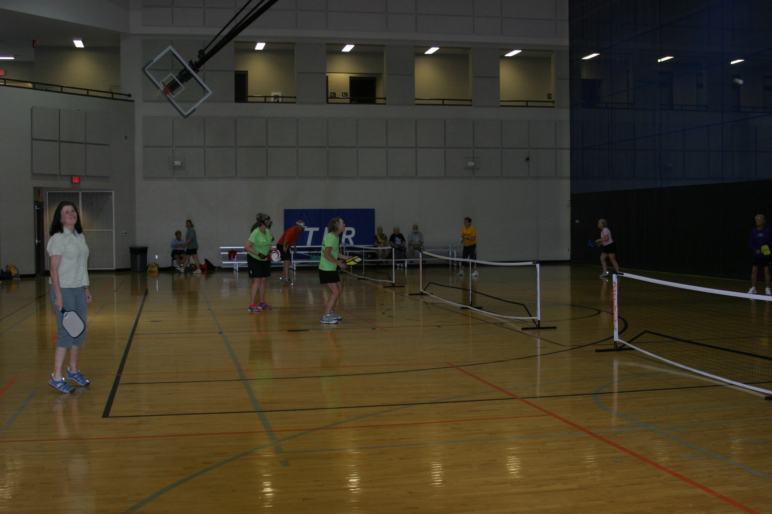 alabama pickleball, trussville pickleball, birmingham pickleball, pickleball, family pickleball, trussville civic center, 2016 Senior Olympics