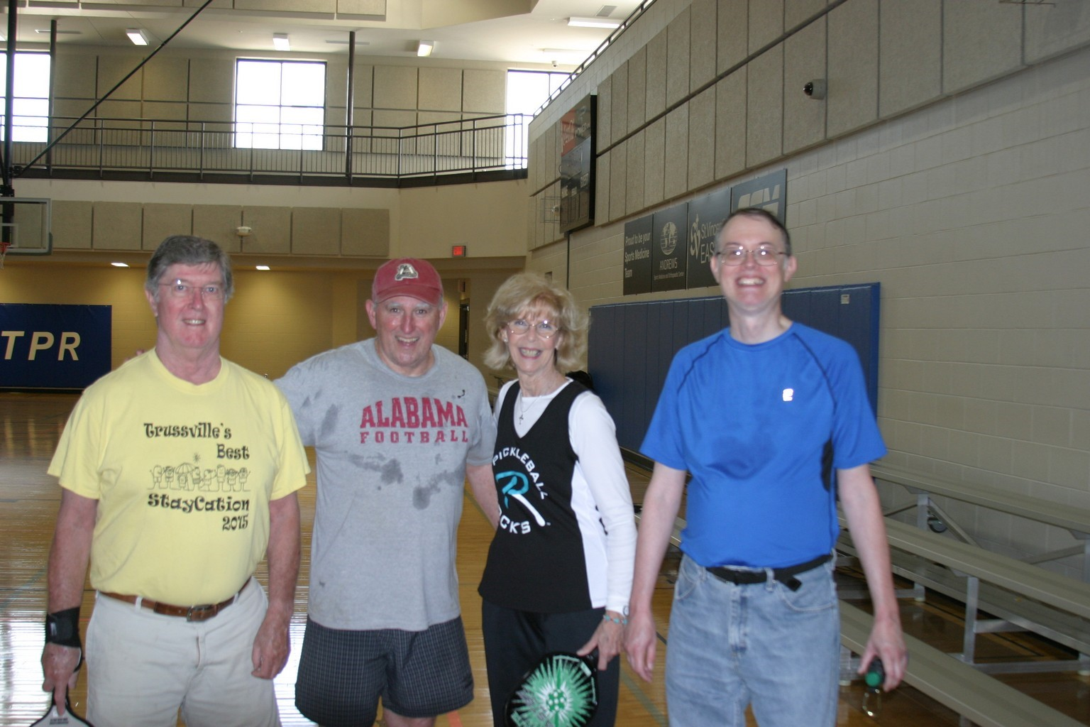 trussville pickleball, birmingham pickleball, pickleball, family pickleball, trussville civic center, trussville, alabama